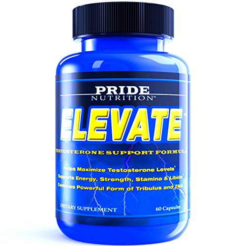 BEST Testosterone Booster For Men - ELEVATE 60 Pills - Top