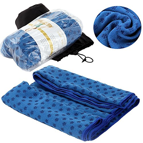 Best Yoga Mat Towel Non-slip Fast Drying Micro Fiber,Anti