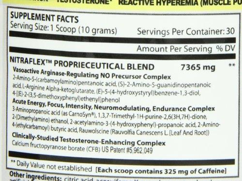 GAT Nitraflex Nutritional Supplement