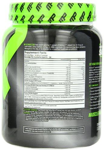 Muscle pharm amino 1 supplement
