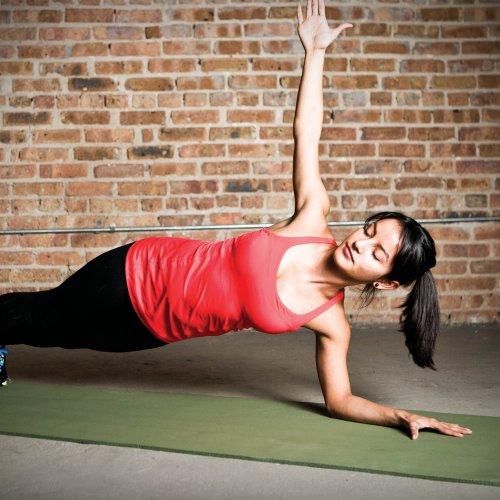 Natural Fitness Powerhouse Yoga Mat (24 X 72 X 3/8-Inch
