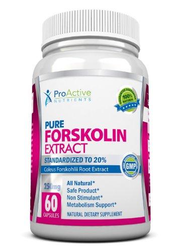 Proactive Nutrients Forskolin Fat Burner Fastest Acting