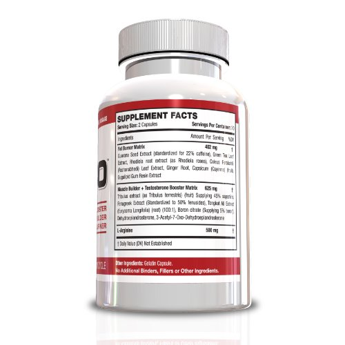 Testosterone Booster Fat Burner for Men-S-500 All In One