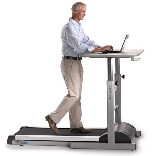 Treadmill Manual Desk with Bluetooth Display Top