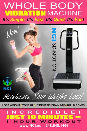 Whole Body Vibration Machine 3d Motion By Nci