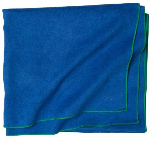 PrAna Maha Yoga Towel Sapphire, One Size