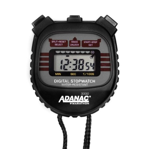 Marathon Adanac 3000 Digital Stopwatch Timer Top Healthy
